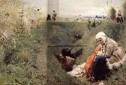 Anders Zorn Our Daily Bread oil